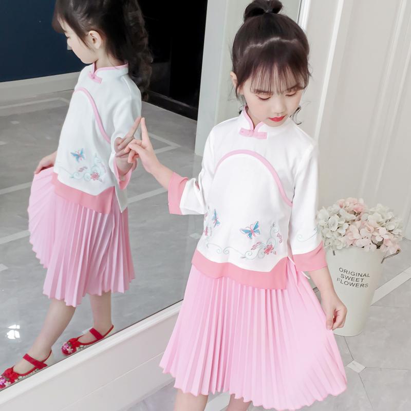 女童公主裙汉服连衣裙仙女裙女童装