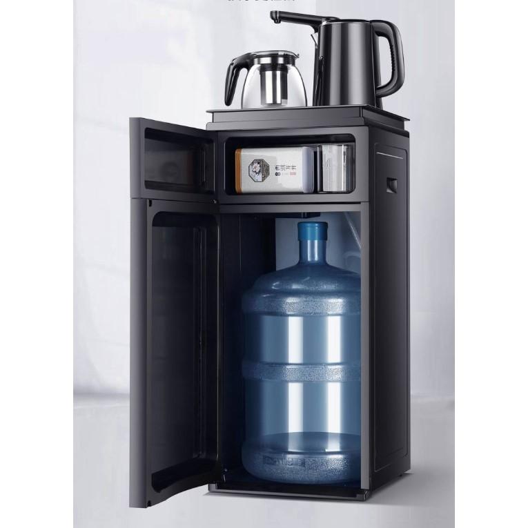 华生饮水机家用下置水桶制冷热两用立式桶装水半全自动冰热茶吧机