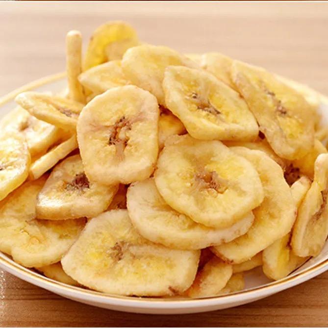 香蕉片500g水果干组合香蕉脆干片果干休闲果干烘烤食品零食果干