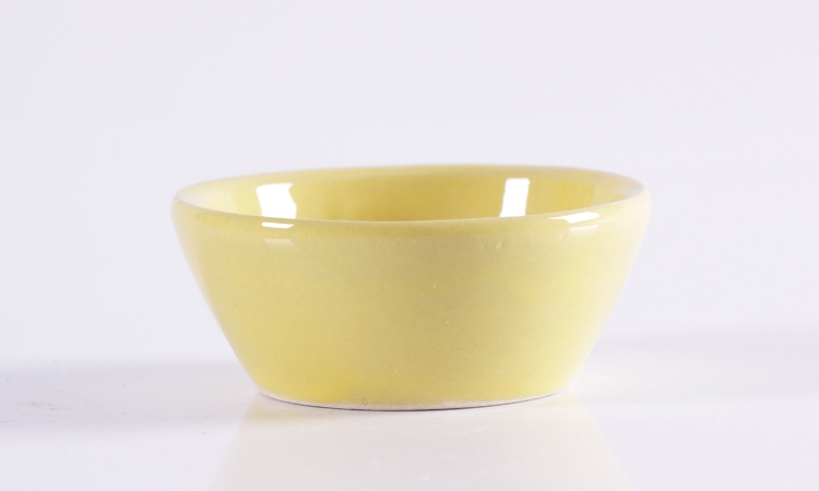 Gao special ceramic bowl seed cup baking mold cup. A small handleless wine cup cup package mail handless small pudding bowl of steaming bowl