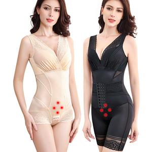 瑾美人塑身衣连体正品计收腹束腰产后塑形薄款燃脂瘦身美体束身衣