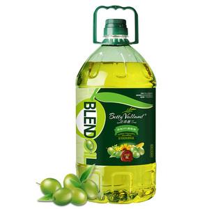 贝蒂薇兰10%橄榄油食用油非转基因色拉油调和油植物油家庭大桶5L,领取淘宝优惠券20元