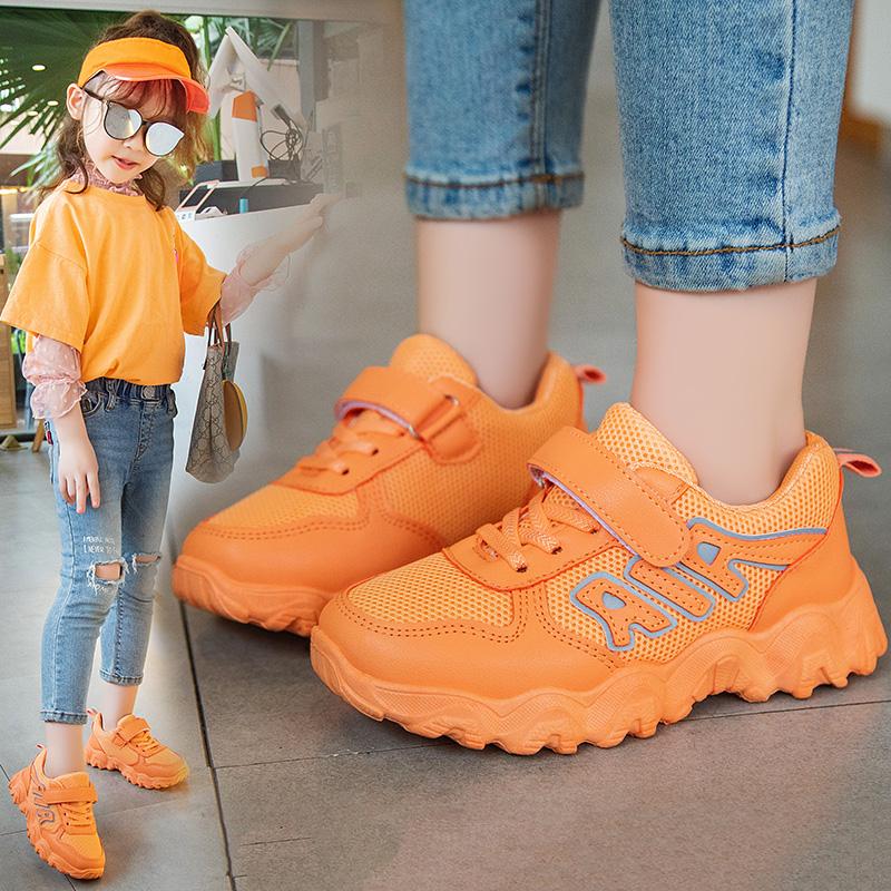 2020夏秋季新款儿童运动鞋男女童休闲鞋网面透气防滑学生旅游鞋