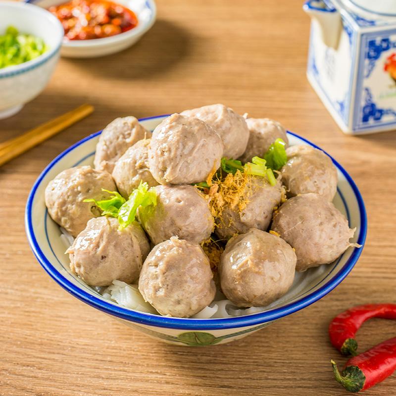 鲜奇诺 潮汕正宗手打牛肉丸250g*2包潮汕特产火锅丸子烧烤关东煮