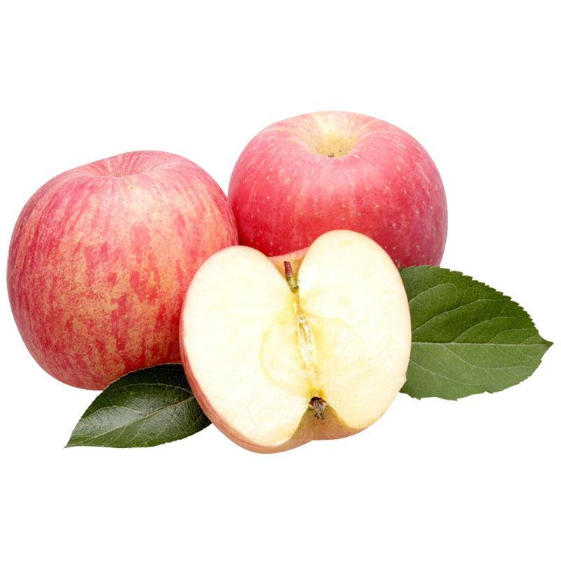 嘎啦苹果新鲜脆甜现摘红富士水果苹果孕妇酸甜5/10斤应季整箱包邮