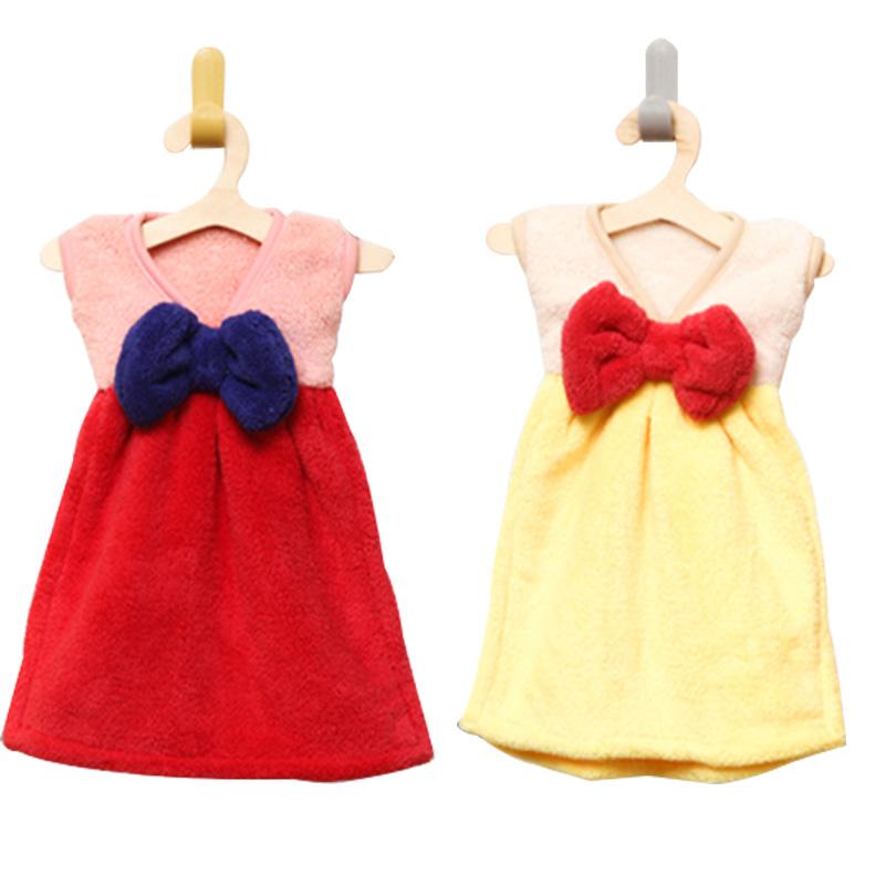 儿童毛巾擦手巾漂亮连衣裙