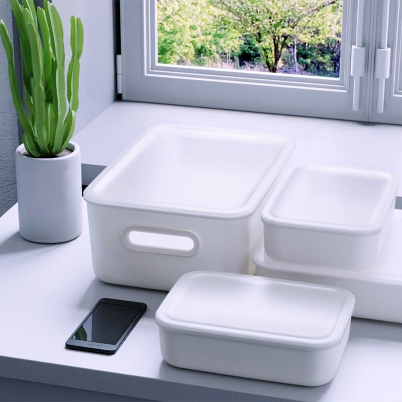 禧天龙日式收纳盒零食储藏盒