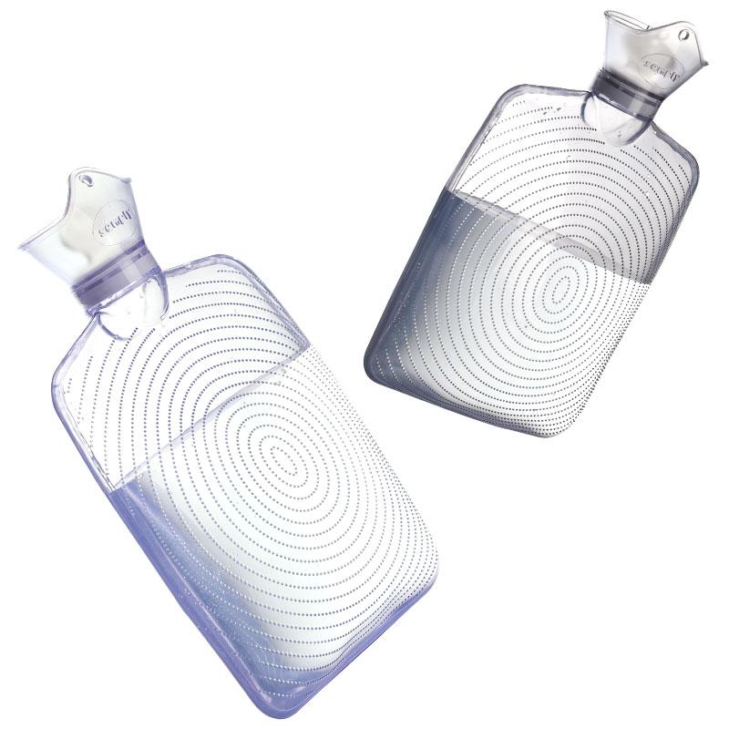 三朴热水袋注水女大号成人防爆装水透明灌水暖脚暖宝宝冲水暖水袋