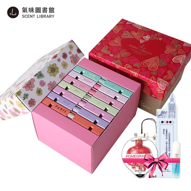 气味图书馆 校花/约会系列女士香水7支礼盒