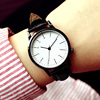 Ms. watch students Korean fashion simple waterproof luminous male table belt female form couple watches one pair