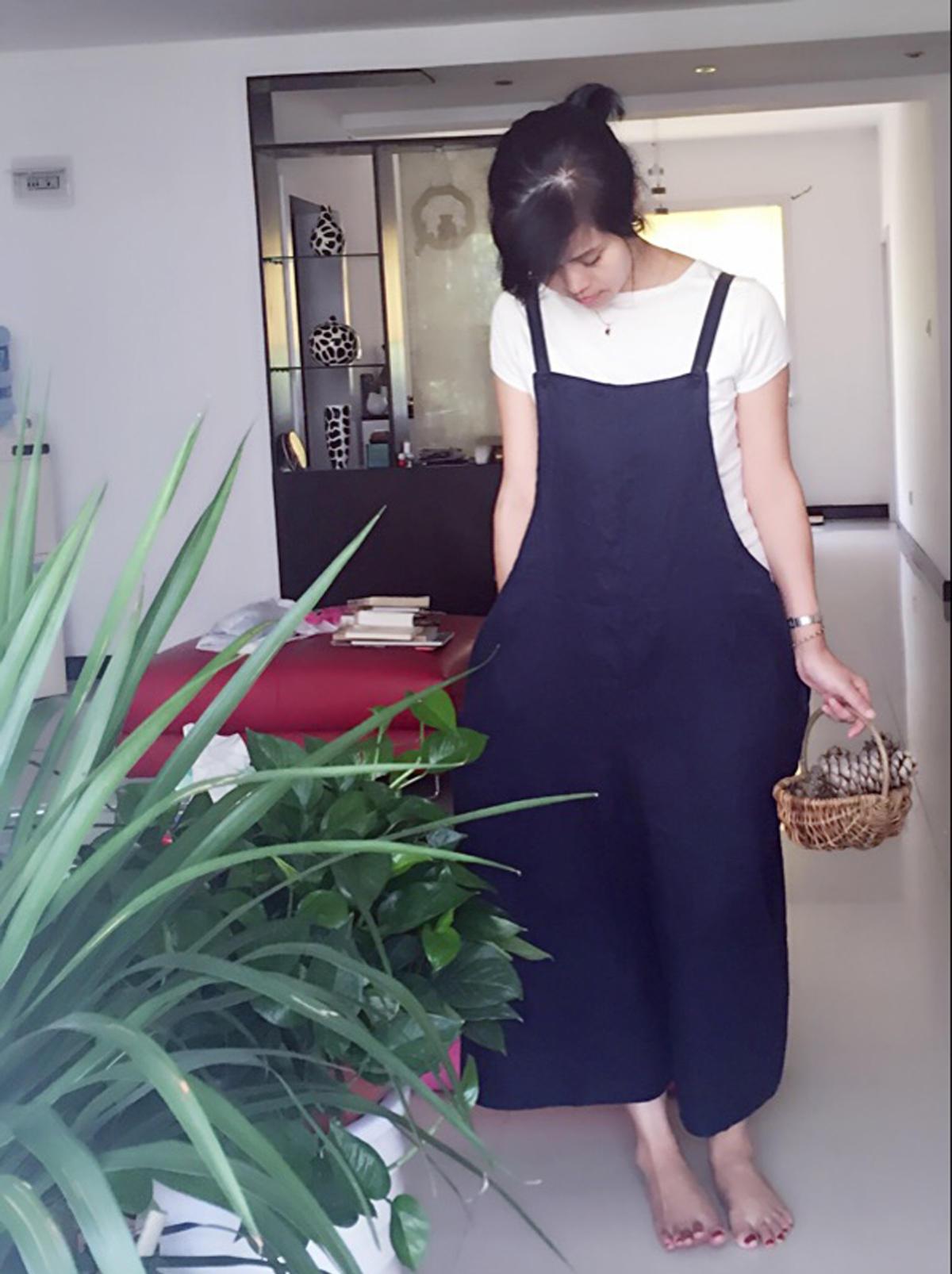 安木图原创设计外贸棉麻女装