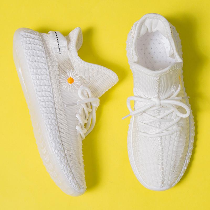 明星同款小雏菊椰子鞋透气潮鞋2020新款ins运动休闲鞋百搭白鞋