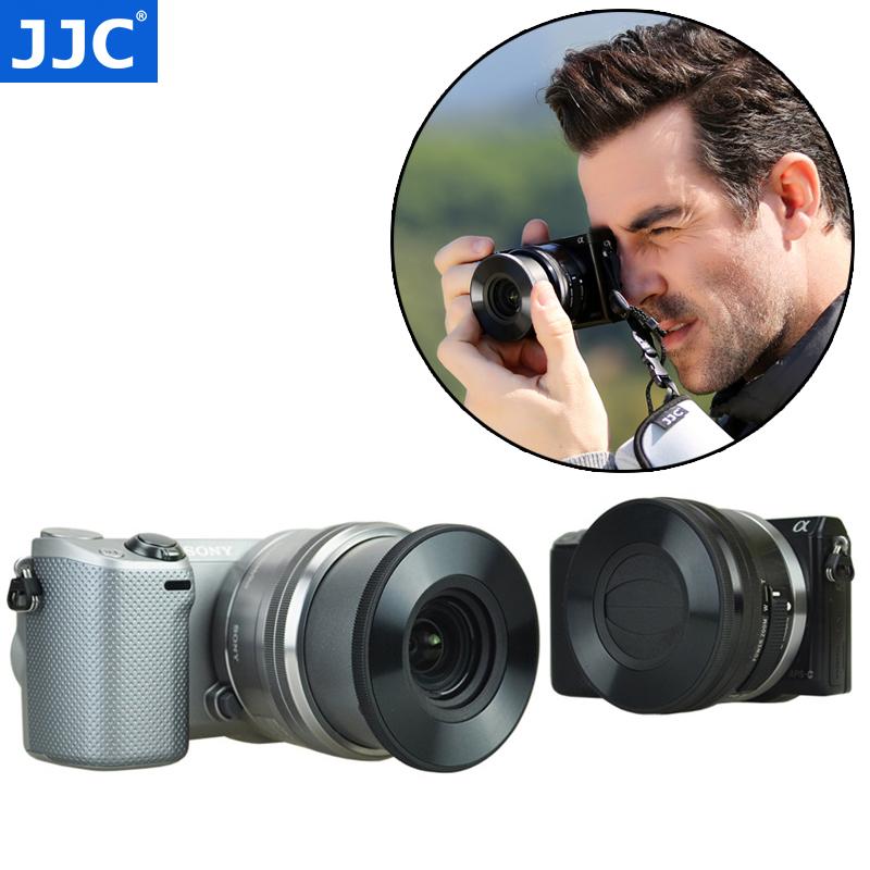 JJC索尼16-50mm微单40.5mm自动镜头盖a6000 a5100 a6500 A6300