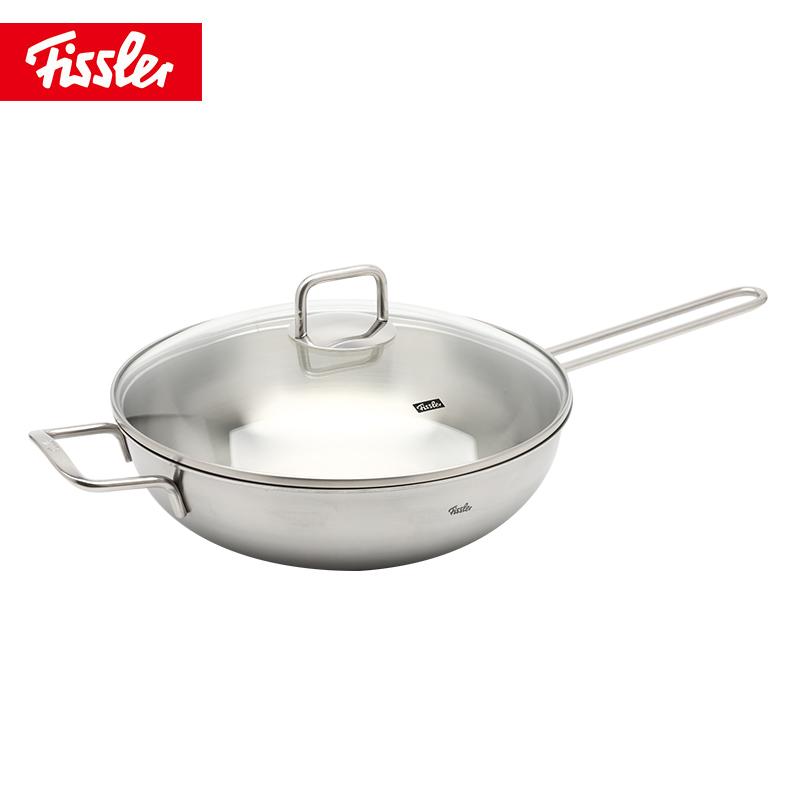 德国菲仕乐fissler 马克普乐30CM炒锅小煎锅精致刀具系列套装