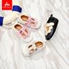 2018春夏新款宝宝公主鞋婴儿鞋软底0-1-2岁女童皮鞋透气宝宝鞋子