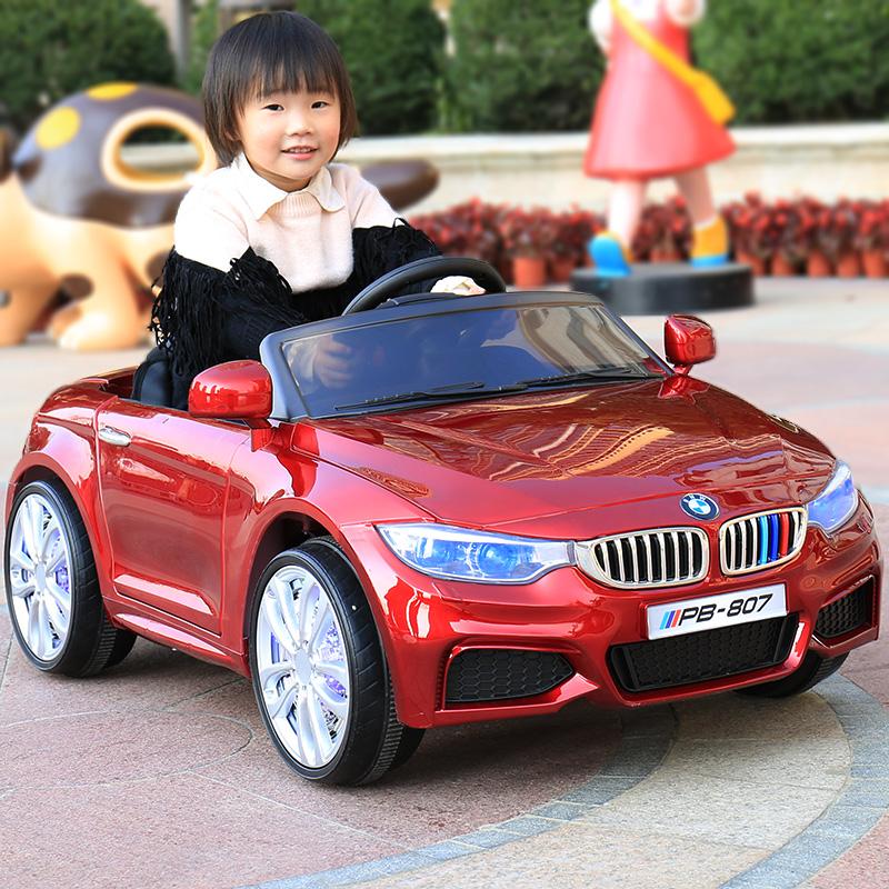 儿童电动车四轮小孩双驱摇摆男女宝宝玩具车遥控车可坐人婴儿汽车