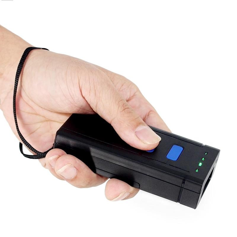 红光CCD蓝牙迷你无线扫码器巴枪扫描枪一维快递单激光条码扫码枪