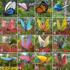 园林景观别墅庭院花园摆件户外仿真蝴蝶玻璃钢动物雕塑工艺品道具