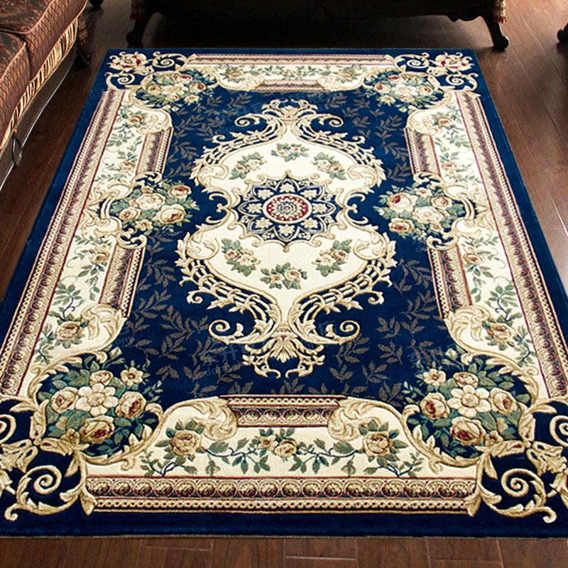 东升地毯欧式美式客厅沙发大地毯卧室床边满铺宫廷家用加厚茶几垫