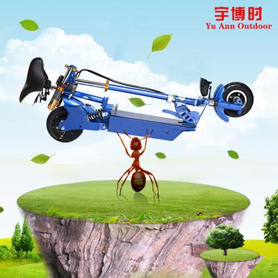 8寸电动车折叠滑板车锂电代驾成人代步迷你电瓶车小型踏板自行车