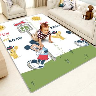 迪士尼爬爬垫家用客厅宝宝婴儿爬行泡沫地垫子加厚儿童小孩可折叠