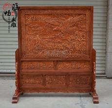 напольная ширма Han CHEONG wood carving
