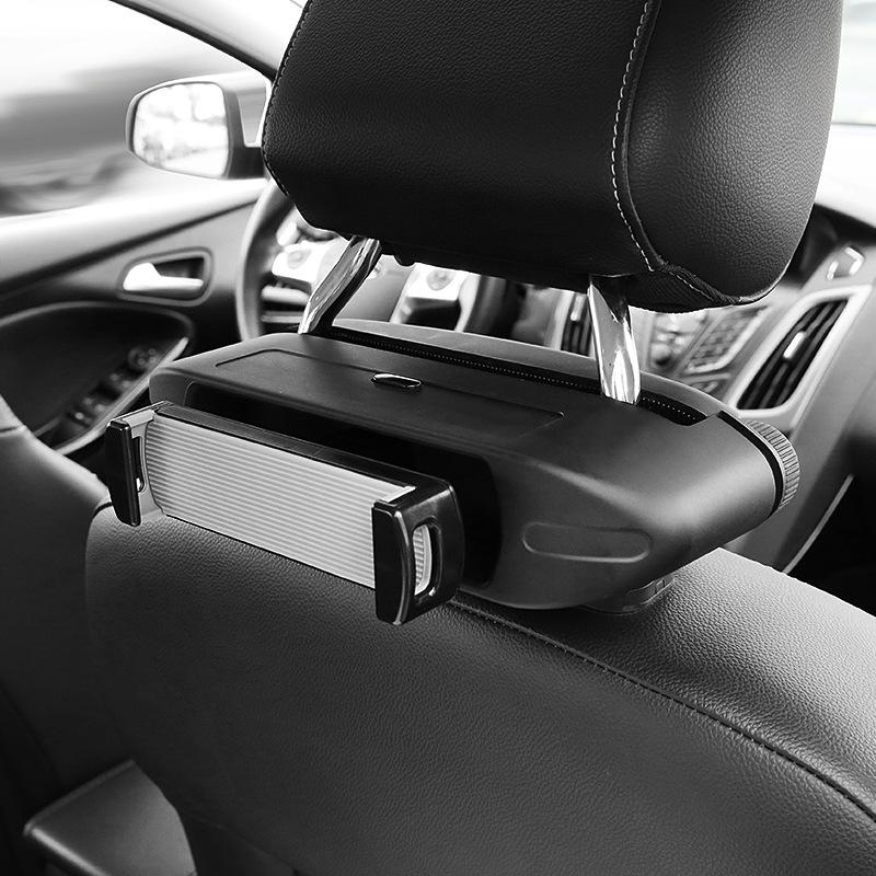 车载IPAD支架后座椅背通用平板电脑mini汽车头枕后排娱乐手机车用