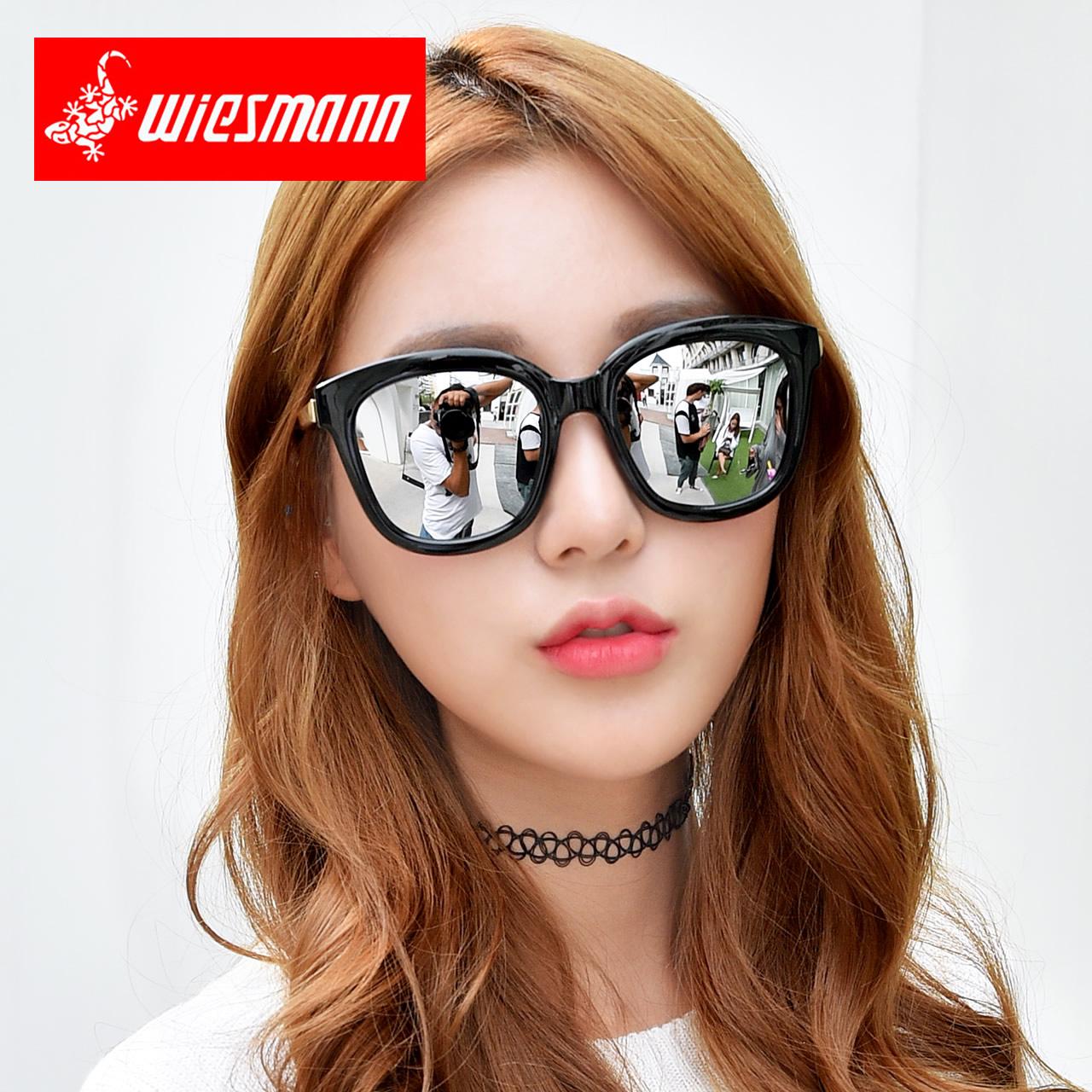 太阳镜女潮2019明星款时尚网红个性长方圆脸近视眼镜女士偏光墨镜