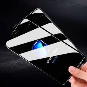 飞毛腿iphone6钢化膜X全屏7苹果7p六6s防指纹6plus手贴膜4.7蓝光7