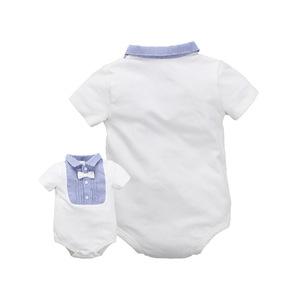 婴儿连体衣夏装 新生儿男女宝宝衣服夏季哈衣薄款三角包屁衣短袖