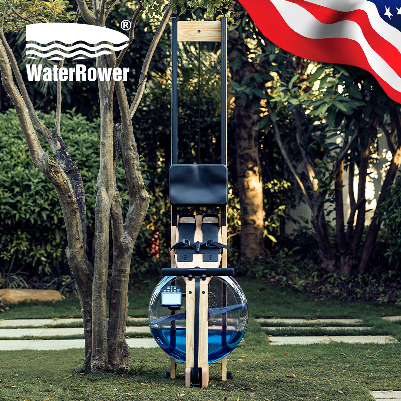 WaterRower进口水阻划船器划船机家用健身器材大自然Natural