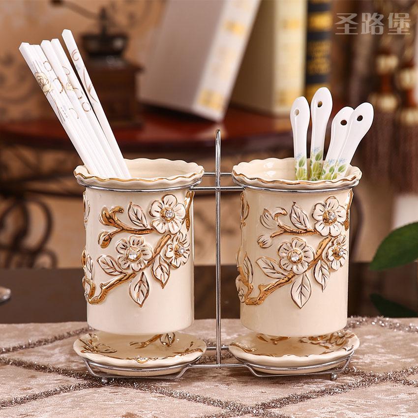 调味罐套装陶瓷欧式油盐罐三件套创意家用厨房用品套装欧式调料盒