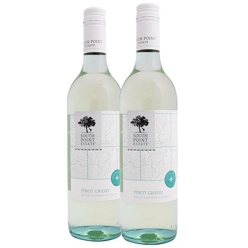 澳洲原瓶进口灰皮诺葡萄酒750ml*2