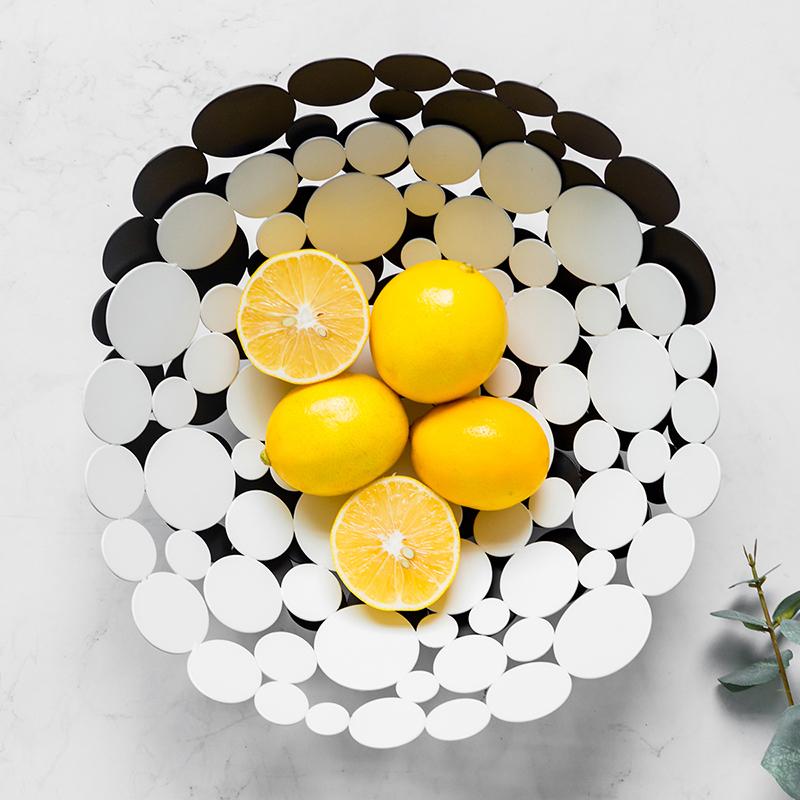 北欧轻奢ins风家用糖果零食盘子水果盘 客厅茶几时尚个性创意托盘