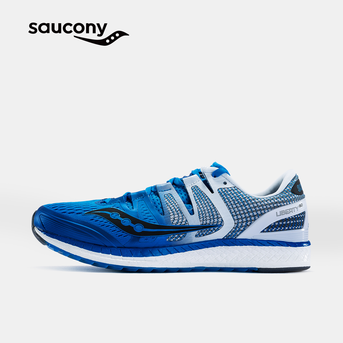Saucony圣康尼LIBERTY ISO 稳定保护跑鞋运动鞋男子跑步鞋S20410