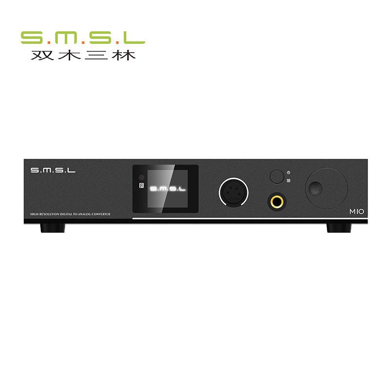 双木三林smsl M10解码器hifi发烧USB声卡dac平衡耳放一体机DSD