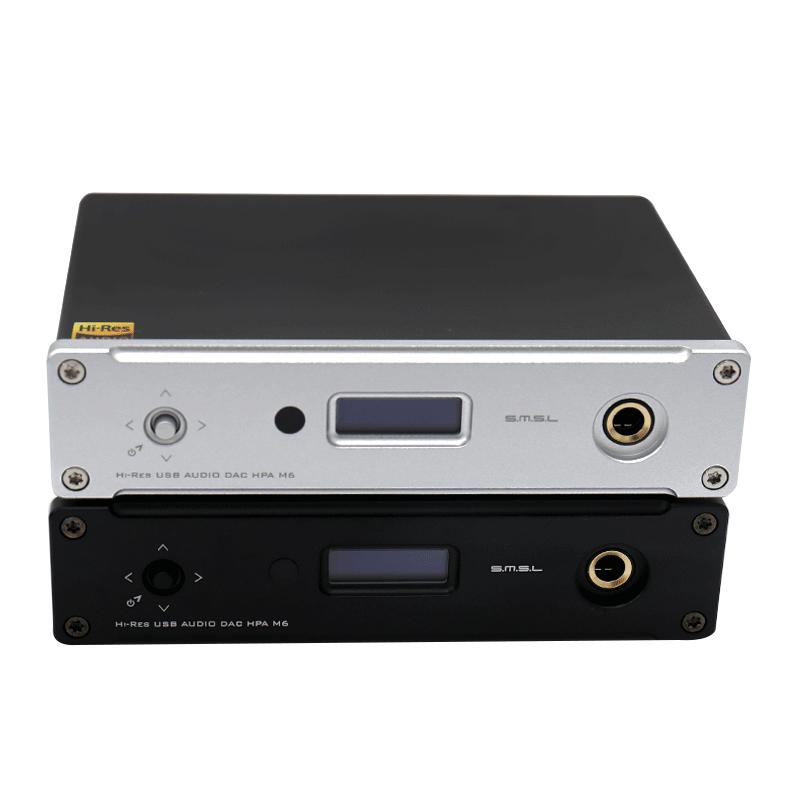 双木三林-S.M.S.L M6升级版异步多功能HIFI音频解码耳放一体机