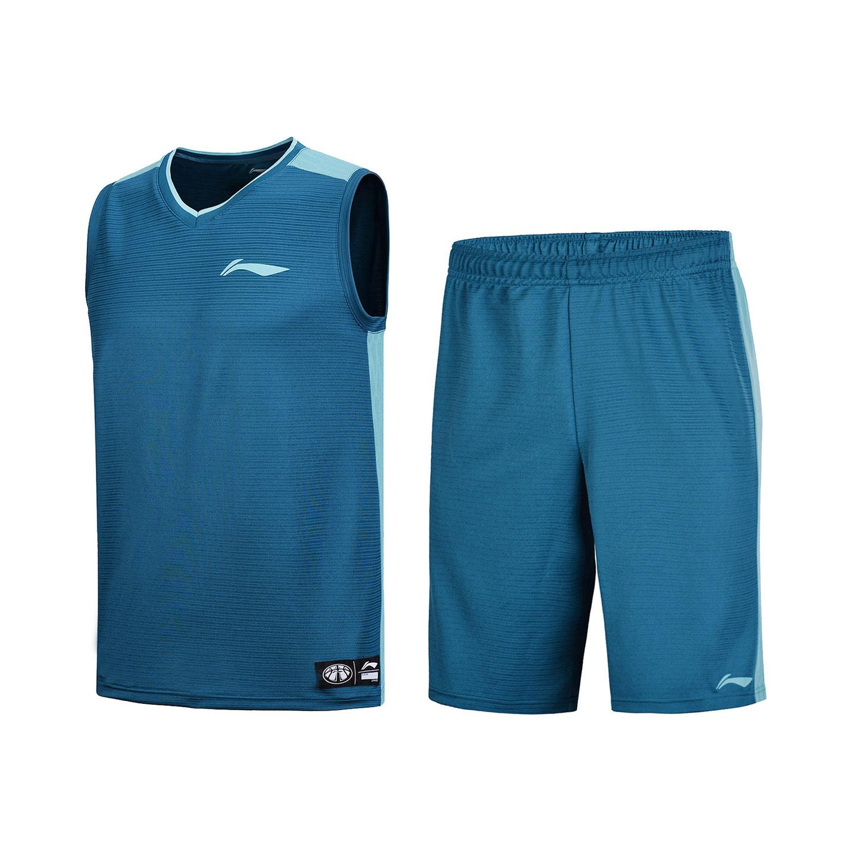李宁篮球比赛套装篮球训练运动服