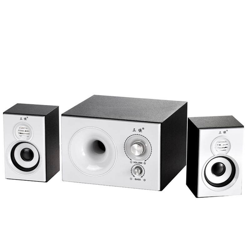 三侠 139-3电脑音箱音响台式笔记本电脑低音炮电视DVD多媒体音箱