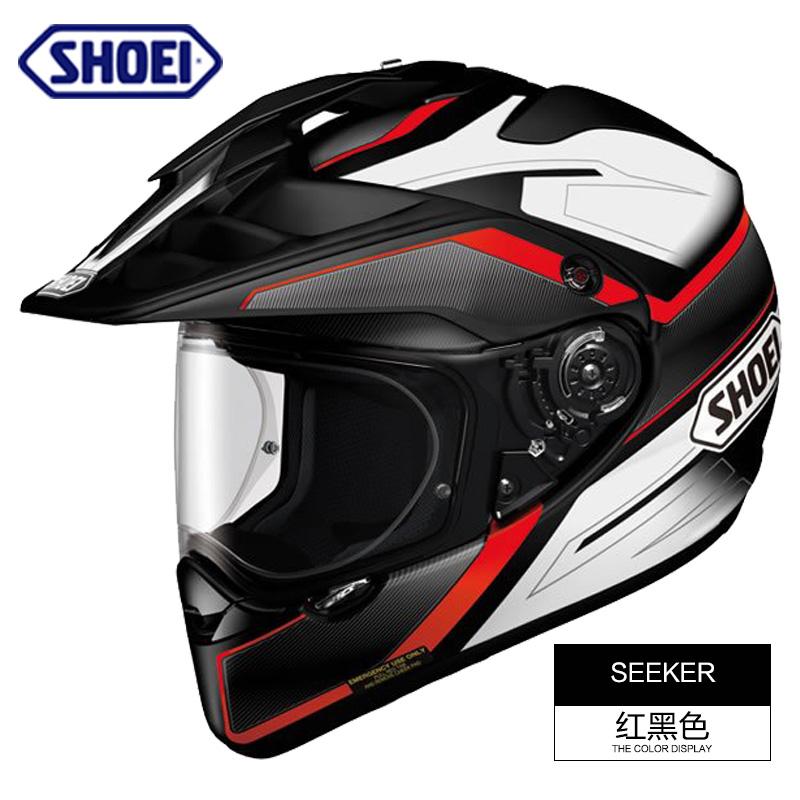 现货日本SHOEI HORNET ADV摩托车头盔越野盔拉力盔全覆式防雾头盔