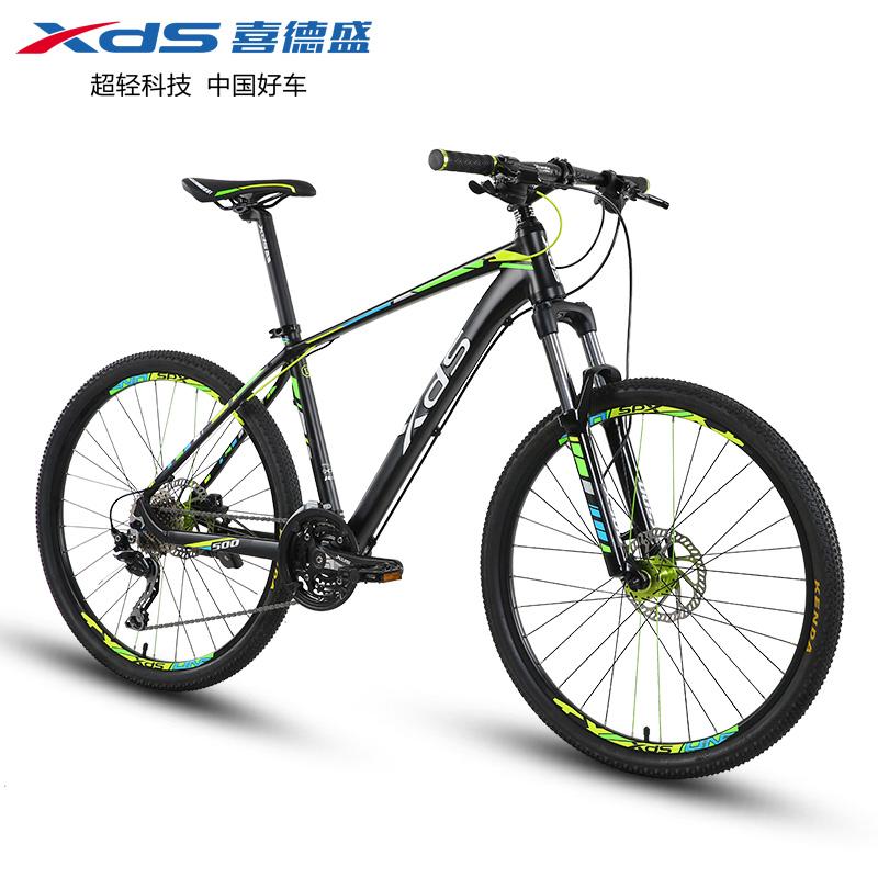 喜德盛山地车炫500山地自行车成人运动越野变速单车30速运动版