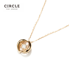 ожерелье Margin (jewellery) c15d18kygn029 Circle 18K