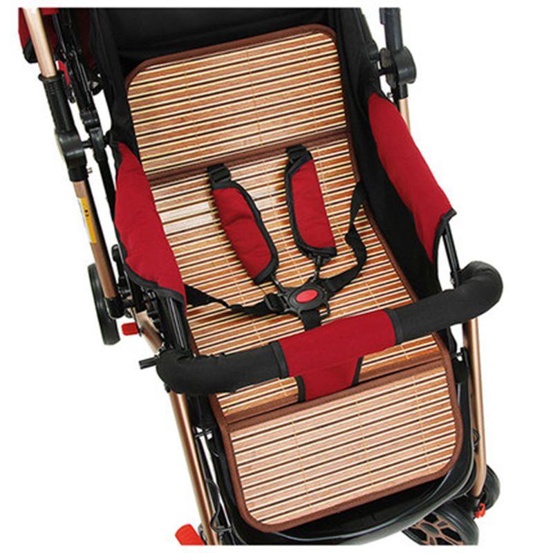 贝吉宝通用型婴儿车推车凉席竹席宝宝儿童手推车冰丝凉席坐垫夏季
