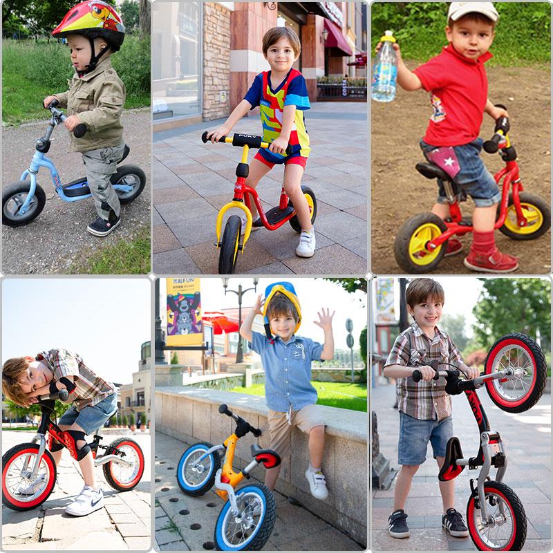 puky德国儿童平衡车无脚踏滑步车1滑行2两轮3岁小孩6宝宝溜溜学步