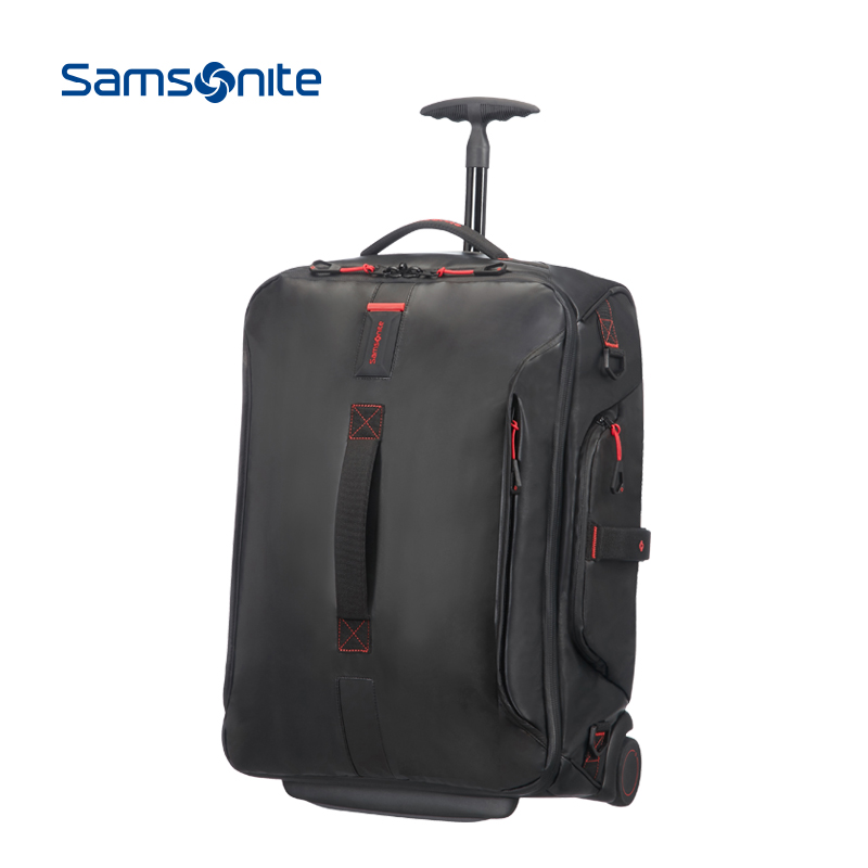 Samsonite-新秀丽大容量拉杆包防水旅行包时尚行李包登机包 01N
