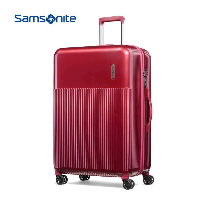 Samsonite-新秀丽拉杆箱箱包旅行箱 密码行李箱硬箱男女28寸 DK7