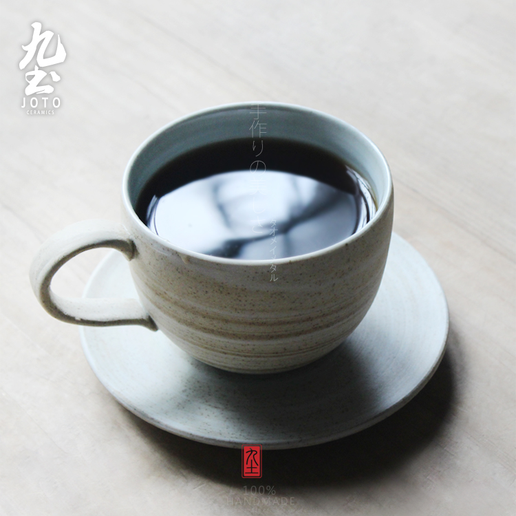 About Nine soil manual home coffee mugs milk cup Japanese ground lines creative move mark cup tea cups