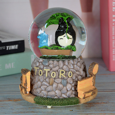 Special Gift Creative Forest Chinchilla Crystal Ball Music Box 584087
