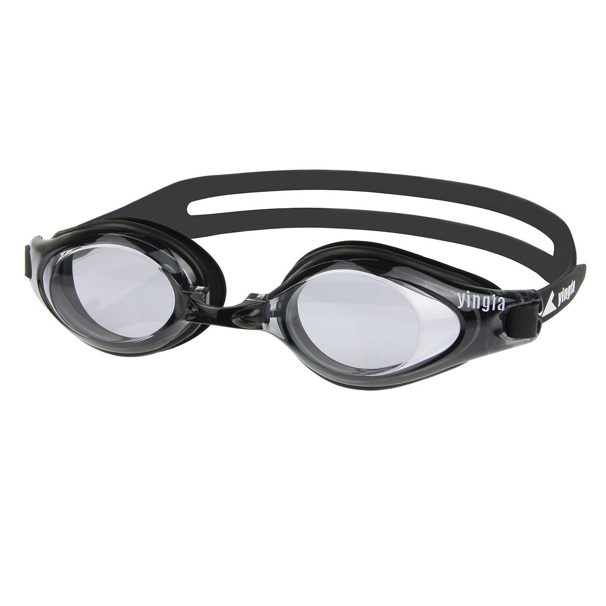 英发泳镜高清防雾 成人男女正品防水游泳镜 舒适大框游泳眼镜