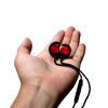 MB K5跑步无线蓝牙耳机 运动双耳塞入耳脑后头戴挂耳颈挂脖式防水听歌通话健身型挂绳项链磁吸附音乐个性潮牌